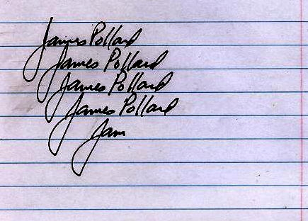 Jimmy's signature